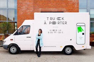 Truck a Porter - Daniela Bode mit Ihrem Fashiontruck
